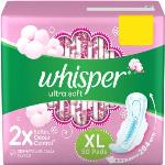 India Desire : Buy Whisper Ultra Soft XL Sanitary Pad(Pack of 50) at Rs. 238 from Flipkart [Buy 4 @Rs 642]