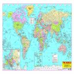 India Desire : Buy World Map Poster at Rs. 67 from Amazon [MRP Rs 130]