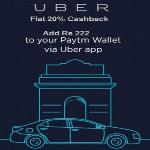 India Desire : Uber Paytm Offer : Add Rs. 350  To Your Paytm Wallet And Get 50% Cashback On Uber Rides