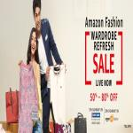 India Desire : Amazon Fashion Wardrobe Refresh Sale Between 23rd-25th June: Upto 80% Off+ Extra 20% Cashback