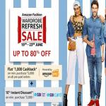 India Desire : Amazon Fashion Wardrobe Refresh Sale: Upto 80% Off On Clothing & Fashion Wear + Extra Rs 1000 Cashback [19th To 23rd June]