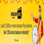 India Desire : Amazon Pay Offers: Get Rs 250 Cashback On Load Money Rs 5000 Or Above in Amazon Pay balance