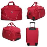 India Desire : Buy American Tourister Polyester Red Travel Duffle 57cm at Rs 1050 from Amazon [Selling Price 2200]