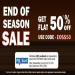 India Desire : Bata End Of Season Sale: Get Flat 50% Off On Bata Shoes, Sandals, Footwears