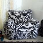 India Desire : Buy Flora Spanio XXXL Bean Bag with Beans in Black & White Colour At Rs 525 From Pepperfry [Selling Price Rs 2009]