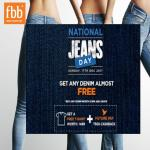 India Desire : FBB National Jeans Day Offer : Buy Denim Jeans From FBB & Get Rs 500 In Future Pay Wallet + Free T-Shirt [17th Dec Only]