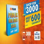 India Desire : Big Bazaar Public Holiday Sale 1st May To 5th May 2019: Shop For Rs 3000 Or More & Get Rs 600 Cashback