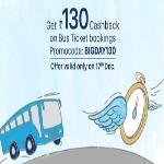 India Desire : Paytm BIGDAY130 Offer: Get Rs 130 Cashback On Bus Ticket Bookings Of Rs. 300 Or Above
