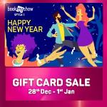India Desire : Bookmyshow New Year Gift Card Sale : Get 15% Off On BMS Gift Cards [28th Dec - 1st Jan 2018]