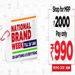 India Desire : Brand Factory Offers: Shop For MRP Rs 2000 & Pay Rs 999 Only [Till 26th January 2020]