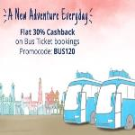India Desire : Paytm BUS120 Promo: Get Flat 30% Cashback On Bus Ticket Booking