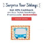 India Desire : Paytm HOLIBUS120 Promo: Get 40% Cashback On Bus Ticket Bookings Of Rs 200 Or More