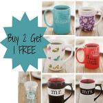 India Desire : Printvenue - Buy 2 Get 1 Free Photo Mugs- MUGOFF