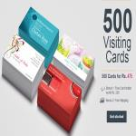 India Desire : Vistaprint Hot Deal : Get 500 Visiting Cards + Free Card Holder Worth Rs. 200 + Free Shipping At Rs. 475 From Vistaprint