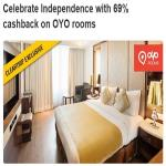 India Desire : Cleartrip Independence Offer : Get 69% Cashback On OYO Rooms From Cleartrip CTOYO69