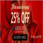 India Desire : Clovia XMAS25 : Get Extra 25% Off For Shop Rs 999 At Clovia