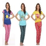 India Desire : Buy Cotton T-Shirt & Pyjama Set At Rs 999 From Clovia