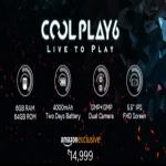 India Desire : Coolpad Cool Play 6 Price On Amazon@Rs 14999 : Sale @4th Sep, Launch Date & Buy Online In India