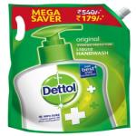 India Desire : Buy Dettol Liquid Handwash Original, Refill - 1500ml At Rs 170 From Zotezo [MRP Rs 540]