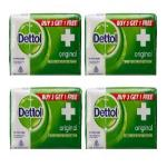 India Desire : Zotezo Steal Deal : Buy Dettol Soap Original 125g Pack of 3 At Rs 75  [MRP: Rs 132]
