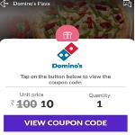 India Desire : Little App Dominos Offer : Dominos Pizza Voucher Worth Rs 100 At Rs 10 Only [New Users]