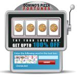 India Desire : Dominos Slot Machine: Try Your Luck & Get Upto 100% off on  Dominos Pizza