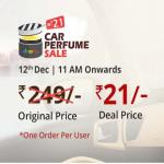 India Desire : Droom Car Perfume Sale : Buy Car Perfume At Rs 9 Only On  6th Sep @11 AM