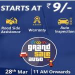 India Desire : Droom Grand Sale Auto : Everything Service At Rs. 9 On 28th March 2017 @11AM