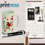 India Desire : Printvenue Rs. 100 Off On Purchase Of Rs. 199 Personalised Products & Additional 15% Cashback Through Mobikwik At Printvenue Use Promo EX100