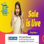 India Desire : Flipkart Big Shopping Days Offers List 13th-16th May 2018: 90% Off Mobile Deals+ 10% HDFC Card Discount