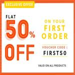 India Desire : Printvenue FIRST50 Offer : Get Flat 50% Off On Your First Order From Printvenue