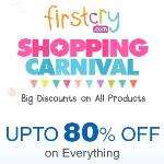 India Desire : Firstcry Shopping Carnival: Upto 80% Off On Everything + Extra 10% Cashback With Paytm Wallet