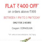 India Desire : Firstcry Shopping Offers : Get Flat Rs. 400 Off On Rs 1000 Shopping [Today 1PM To 3PM]