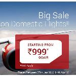 India Desire : Go Air Domestic Flight Offer: Book Go Air Domestic Flights From Rs. 999 At Via.com
