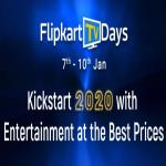 India Desire : Flipkart TV Days Offers : Get Upto 55% Off On LED TVs + Extra 10% Off Via Any Bank Cards & Net Banking [7th To 10th Jan 2020]