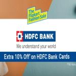 India Desire : Flipkart HDFC Cards Offers : Get Flat 10% Off On Fashion Products With HDFC Bank Debit/Credit Cards