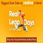 India Desire : Flipkart Real Leap Days Sale : Get Upto Rs 5000 Off On Realme Smartphones Between 27th To 30th June 2019