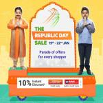 India Desire : Flipkart Republic Day Sale 19th-22nd Jan 2020: Upto 90% Off Mobile Offers + Extra ICICI Bank & Kotak Bank Discount