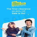India Desire : Flipkart Fashion Sale 2017 : Upto 80% Off On Clothing, Footwear, Accessories & More [24th To 26th Feb]