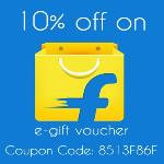 India Desire : Giftxoxo Flipkart E-Gift Voucher Offer : Get 10% + 1% Off On Flipkart E-Gift Voucher From Giftxoxo