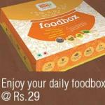 India Desire : Get Dum aa Dum Food Box At Rs. 29 Only From Little App