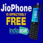 India Desire : Jio Mobile Phone Online Booking For Rs. 1500 (Effectively ZERO) Registration Date, Buy Online @ www.jio.com