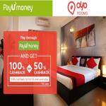 India Desire : Oyo 100% Cashback Offer : Get 100% Cashback On  Booking Hotel Via OYO APP Upto Rs. 1500