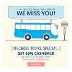India Desire : Paytm WEMISSYOU Bus Ticket Offer:Get Flat 50% Cashback On booking Bus Tickets From Paytm
