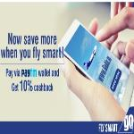 India Desire : GoAir Paytm Offer :Flat 10% Cashback On GoAir Website Or App Via Paytm Wallet