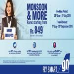 India Desire : GoAir Monsoon Sale: Airfares Starting From Rs 849