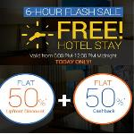India Desire : Goibibo FREEHOTEL15 Code: Get Flat 50% Discount & Extra 50% Cashback On Domestic Hotel At Goibibo [Valid Till 11:59 Pm Midnight Today]