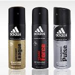 India Desire : Adidas Deodorants Offer : Flat 50% Off On Adidas Deodorants At Snapdeal