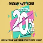 India Desire : Jabong Happy Hour Sale : Get Extra 20% Off At Jabong Today [Till Midnight]