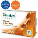 India Desire : Zotezo Super Deals : Buy Himalaya Almond & Rose Soap 125gm Pack of 4 At Rs 90 Only [44% Off]